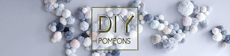 DIY : 12 créations en pompons pour une déco unique !