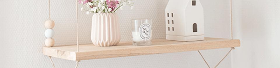L'étagère balançoire : une étagère suspendue pratique et esthétique !