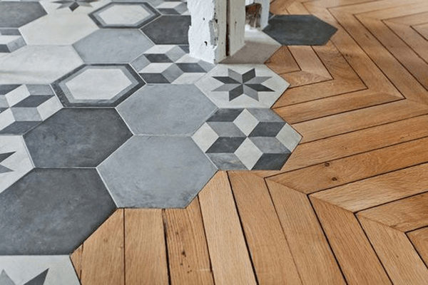 Les carreaux pour booster votre d co escale design for Carrelage hexagonal parquet