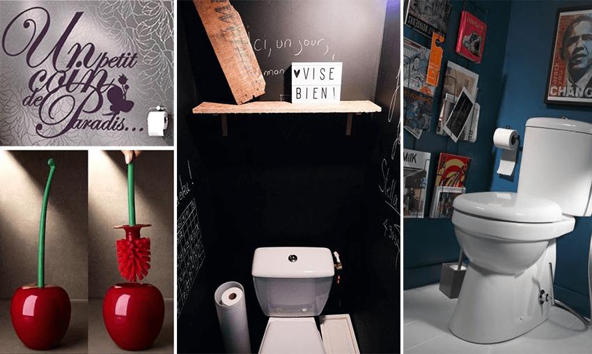 deco originale wc interesting decoration toilettes zen avec deco toilettes originale idee wc. Black Bedroom Furniture Sets. Home Design Ideas