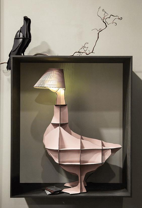 Ibride lampe atypique