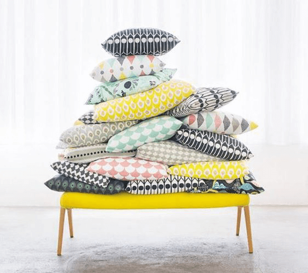 coussin style scandinave