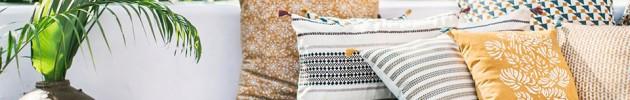 Comment mixer les motifs de vos coussins?