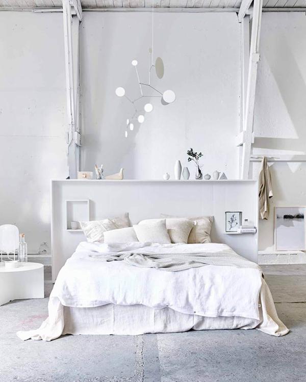 deco chambre blanche