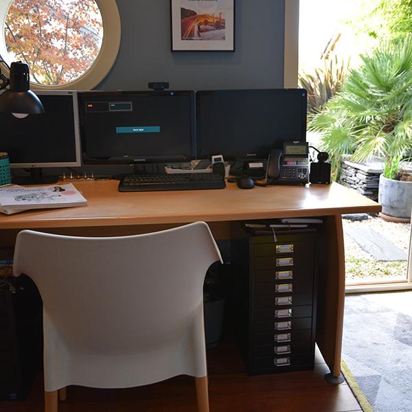 Projet déco bureau escale design cathy brois