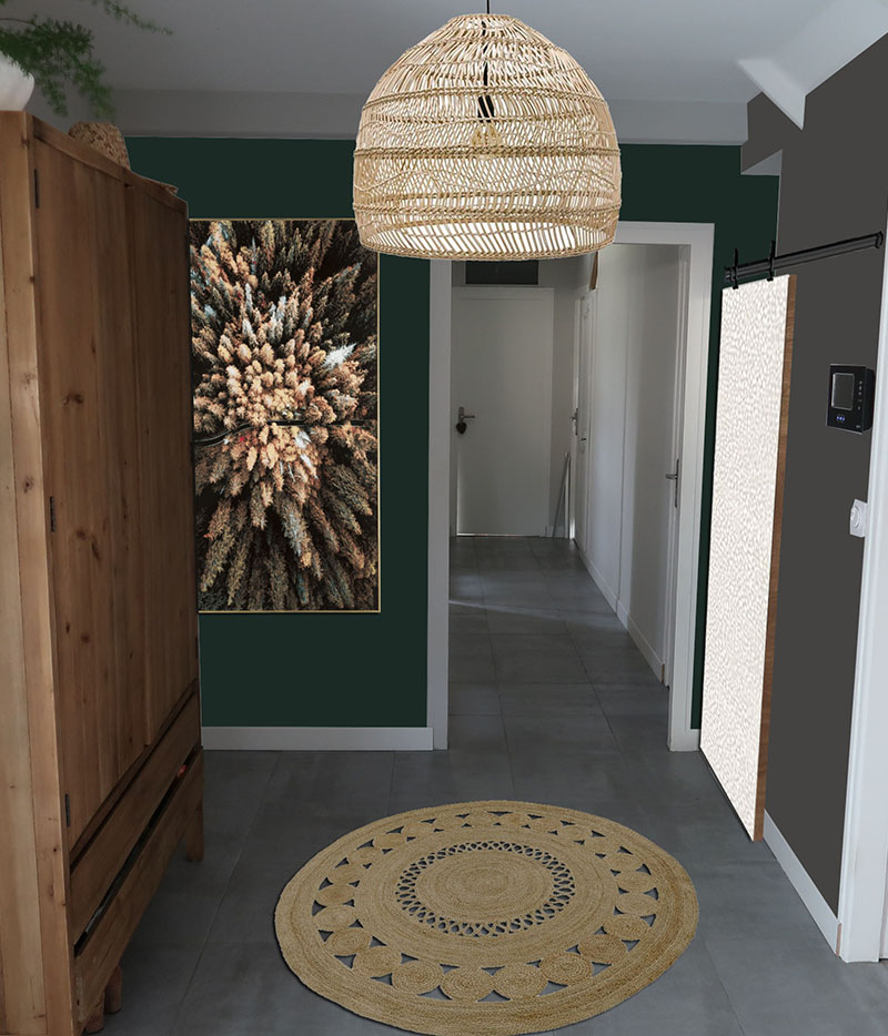 projet decoration cathy brois escale design entrée